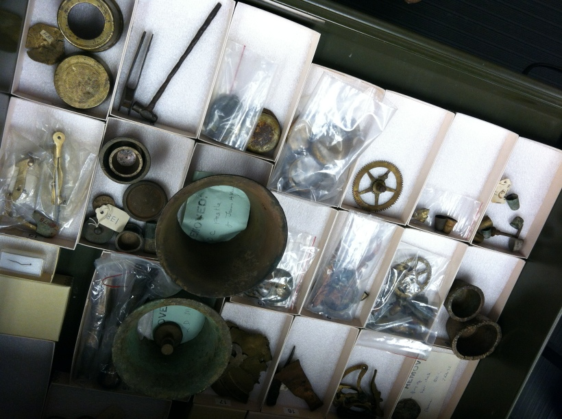 Artifacts from Colonial Williamsburg's collections.